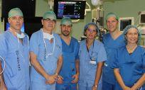 Primer implante en España de prótesis autoexpandible sobre válvula mitral nativa. (Foto. Comunidad de Madrid)