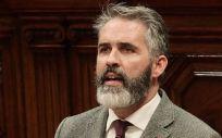 Jorge Soler, portavoz de Sanidad de Ciudadanos en el Parlament de Cataluña (Foto: @jsolerCs)