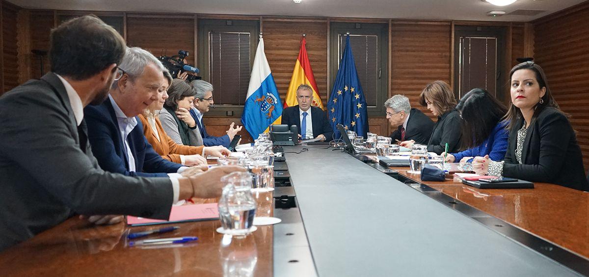 Consejo de Gobierno de las Islas Canarias (Foto. Gobierno de Canarias)