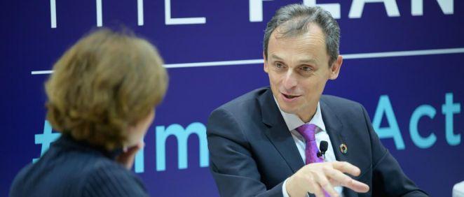 El ministro de Ciencia e Innovación, Pedro Duque (Foto: @astro_duque)