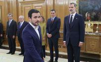Alberto Garzón, nuevo ministro de Consumo (Foto. Casa Real)