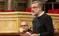 Carles Riera, diputado de la CUP (Foto: Parlament de Cataluña)