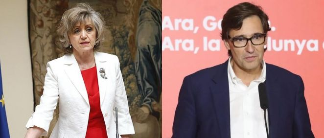 María Luisa Carcedo y Salvador Illa. (Foto. ConSalud.es)