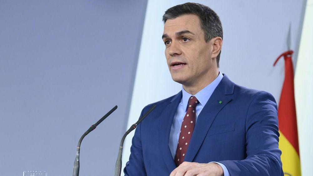 Pedro Sánchez, presidente del Gobierno (Foto. Pool Moncloa / Borja Puig de la Bellacasa)