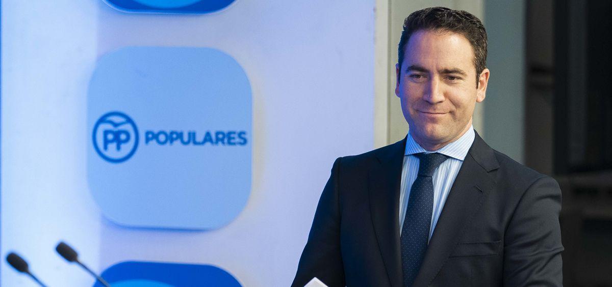 Teodoro García Egea, secretario general del PP (Foto. Flickr PP)