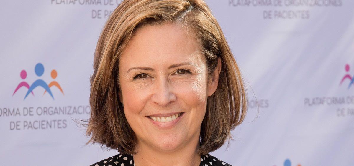 Carina Escobar, presidenta de la Plataforma de Organizaciones de Pacientes (POP)