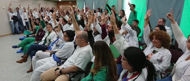 Facultativos del Hospital Universitario de Canarias (HUC). (Foto. CESM Tenerife)