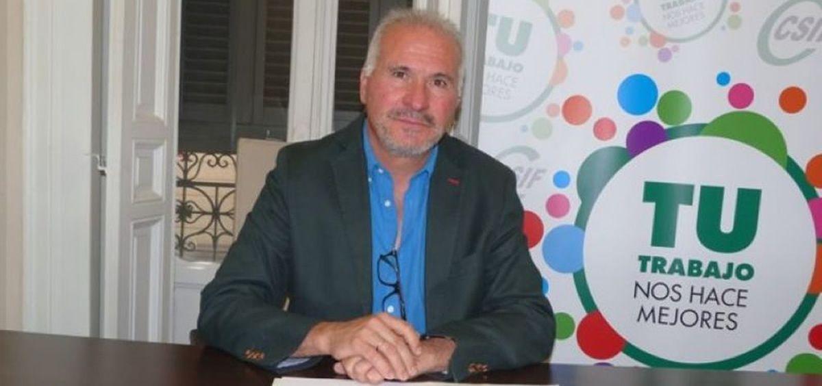Francisco Javier Martinez, presidente del Sector Nacional de Sanidad de CSIF.