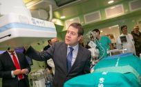 En sus seis primeros meses de funcionamiento ha permitido la realización de cerca de 400 actos médicos entre los que destacan 200 cateterismos cardiacos (Foto. Gobierno de Castilla-La Mancha)