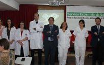 Nuevo equipo de cinco oncólogos (Foto. Junta de Extremadura)