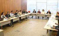 Reunión del Sescam (Foto. Sescam)