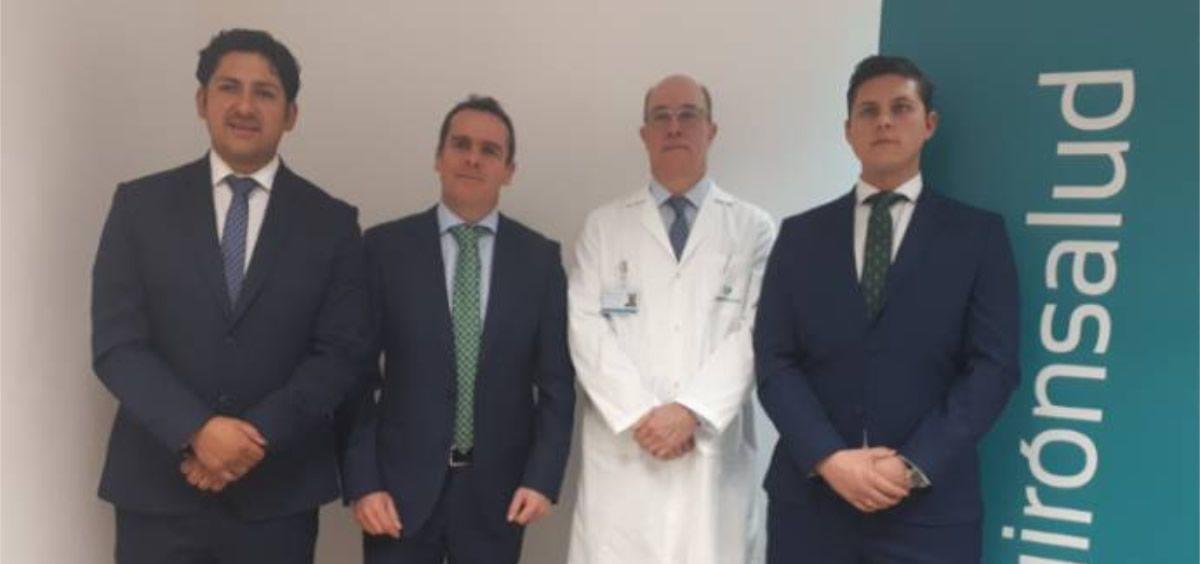 Profesionales del Hospital Quirónsalud Toledo (Foto. Quirónsalud)