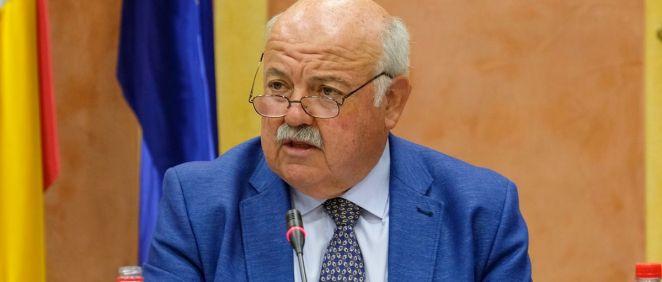 Jesús Aguirre, consejero de Salud de la Junta de Andalucía (Foto: Parlamento de Andalucía)