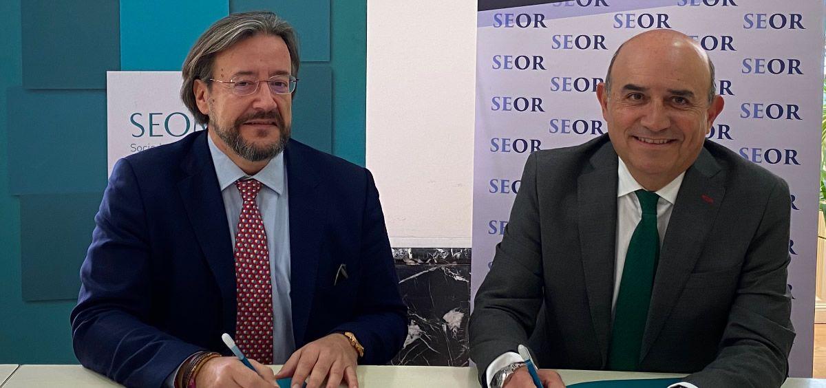 Dr. Jorge Contreras y Dr. Álvaro Rodríguez Lescure (Foto. ConSalud)