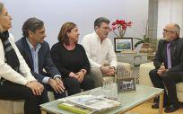 Reunión entre Semergen Cantabria y la Consejería de Sanidad (Foto. Gobierno de Cantabria)