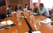 Reunión para la aprobación de los nombramientos de los nuevos gerentes de las áreas sanitarias (Foto. Gobierno de Asturias)