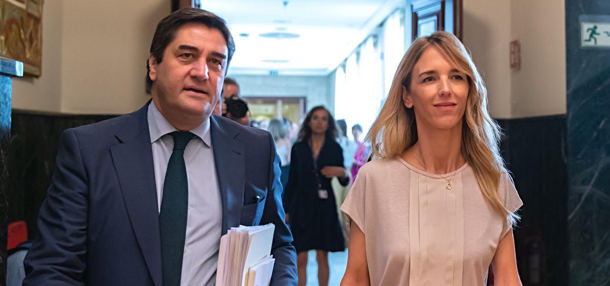 José Ignacio Echániz y Cayetana Álvarez de Toledo, diputado y portavoz del Grupo Parlamentario Popular (Foto: PP Congreso)