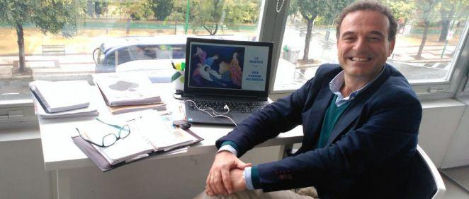 Rafael Mota, presidente de la Sociedad Española de Cuidados Paliativos (Secpal). (Foto. Secpal)