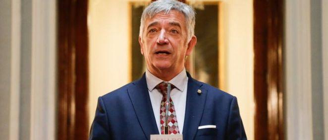 El senador autonómico por Navarra, Koldo Martínez, miembro de Geroa Bai, (Foto. Geroa Bai)