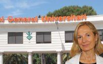 Inmaculada Renart, directora gerente del Hospital General de Valencia (Foto. Fotomontaje ConSalud.es)