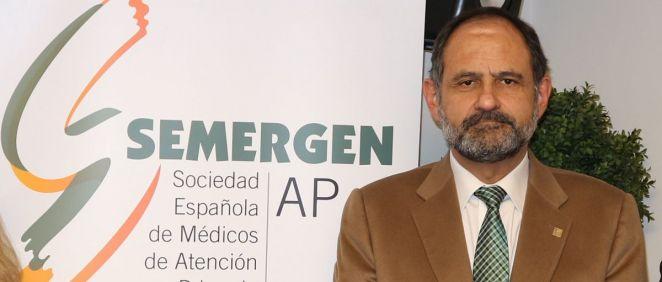El vicepresidente primero de la Sociedad Española de Médicos de Atención Primaria, José Polo (Foto: SEMERGEN)