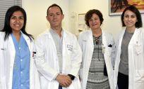 Profesionales del Hospital Universitario de Talavera (Foto. Sescam)