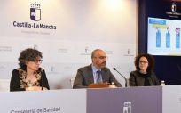 Presentación del nuevo calendario vacunal infantil de Castilla   La Mancha (Foto. Sescam)