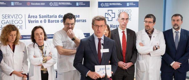 Alberto Núñez Feijóo (Foto. Xunta de Galicia)