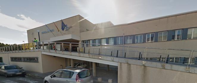 Hospital Público da Mariña, en Burela (Foto. Google Maps)