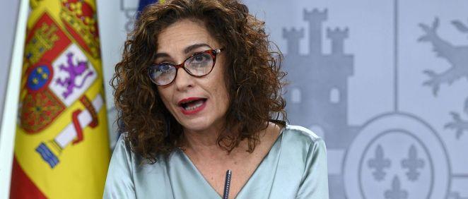 María Jesús Montero, ministra de Hacienda y portavoz del Gobierno (Foto: La Moncloa)