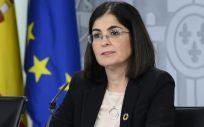 La ministra de Política Territorial y Función Pública, Carolina Darias. (Foto. Pool Moncloa Borja Puig de la Bellacasa)