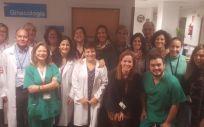 Profesionales del hospital Ramón y Cajal (Foto. Comunidad de Madrid)