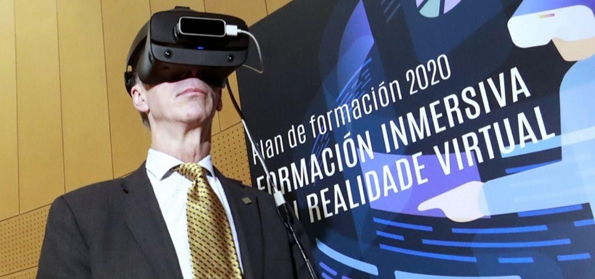 Jesús Vázquez Almuiña, consejero de Sanidad, ha informado de que las herramientas estarán disponibles a partir del mes de mayo (Foto. Xunta de Galicia)