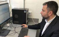 Sistema desarrollado para medir la glucosa con ECG (Foto: Universidad de Warwick)