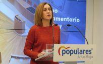 Begoña Martínez Arregui, diputada del PP de La Rioja (Foto: @LaRiojaPP)