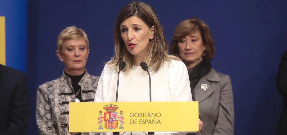 Yolanda Díaz, ministra de Trabajo y Economía Social (Foto: @Yolanda Diaz)