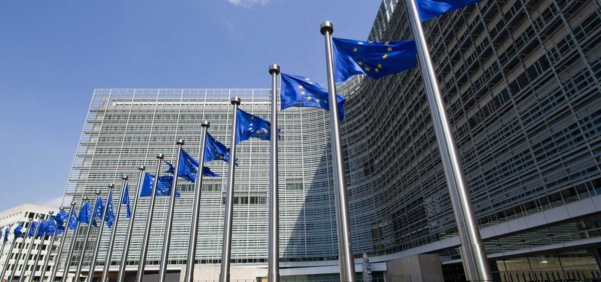 Banderas de la Unión Europea (Foto. CE)