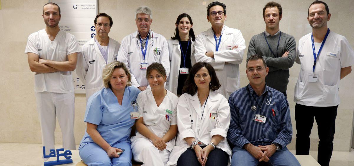 Profesionales del Hospital La Fe de Valencia (Foto. ConSalud)