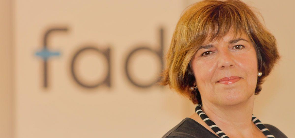 Eulalia Alemany, directora técnica de la Fad (Fundación para Ayuda contra la Drogadicción). (Foto. Fad)
