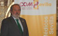 Alfonso Carmona, presidente del Colegio de Médicos de Sevilla