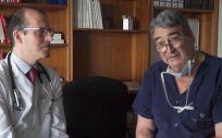Gonzalo Pizarro y Enrique Rodríguez, jefes de Servicio de Cardiología y Cirugía Cardiaca de Ruber Juan Bravo (Foto. ConSalud)