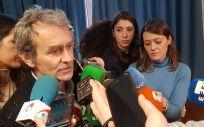 Fernando Simón, director del Centro de Coordinación y Emergencias Sanitarias del Ministerio de Sanidad (Foto: ConSalud.es)