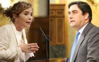 Marta Martín y José Ignacio Echániz, diputados de Ciudadanos y PP (Montaje ConSalud.es)