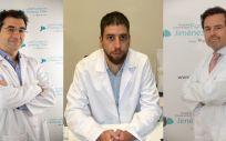 Dr. Antonio Maria Foruria, Dr. Javier Cervera y Dr. Emilio Calvo (Foto. ConSalud)
