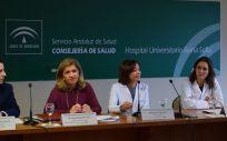 Presentación del sistema de localización, identificación y trazabilidad de pacientes en los quirófanos (Foto. Junta de Andalucía)
