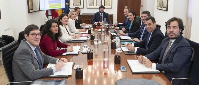 Consejo de Gobierno de la Región de Murcia (Foto: CARM.es)