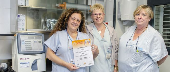 Enfermeras del Gregorio Marañón (Foto. ConSalud)
