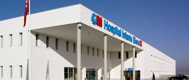 Fachada del Hospital Universitario Infata Elena (Foto. Hospita Infanta Elena)