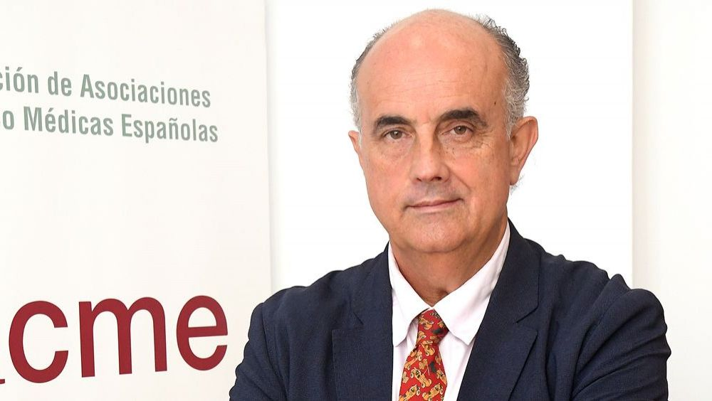 Antonio Zapatero, presidente de la Federación de Asociaciones Científico Médicas Españolas. (Foto. Facme)
