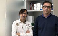Martín Ventura (izquierda) lidera el grupo de investigadores del CIBERCV en el IIS-FJD (Foto. FJD)